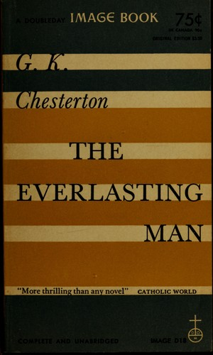 the everlasting man 1955 edition open library