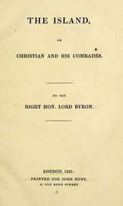 Cover of: The island: or, Christian and his comrades.