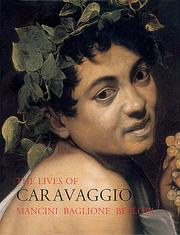 Cover of: Lives of Caravbaggio
