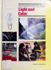 Cover of: Light and color by Terry Jennings