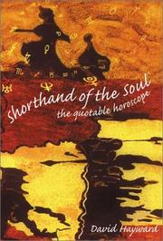 Cover of: Shorthand of the Soul