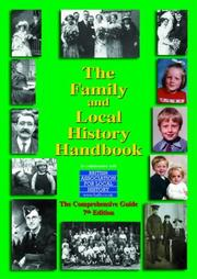 Cover of: The Family and Local History Handbook (Geneological Services Directory)