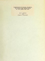 Cover of: Standardization of nuclear, biological, and chemical (NBC) defense within the Fleet Marine Force (FMF) | Carl R. McClain