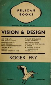 Roger fry an essay in aesthetics