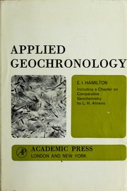 Cover of: Applied geochronology