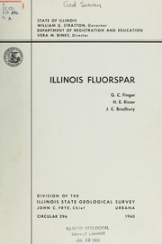 Cover of: Illinois fluorspar