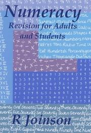 Cover of: Numeracy