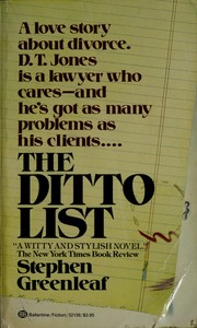 Cover of: The ditto list | Stephen Greenleaf