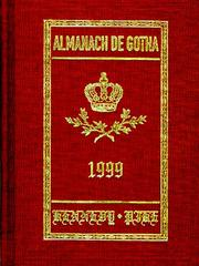 Cover of: Almanach De Gotha, 1999