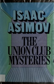 Cover of: The Union Club mysteries