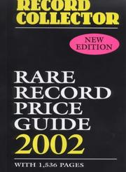Cover of: Rare Record Price Guide (Record Collector Magazine)