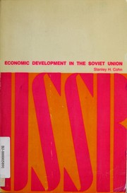 Cover of: Economic development in the Soviet Union