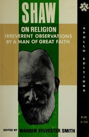 Cover of: Shaw on religion