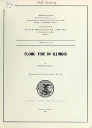 Cover of: Flood tide in Illinois
