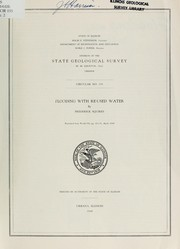 Cover of: Flooding with re-used water