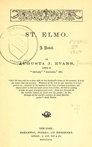 Cover of: St. Elmo | Augusta J. Evans