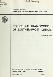 Cover of: Structural framework of southernmost Illinois