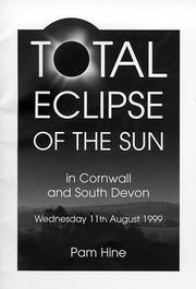 Cover of: Total Eclipse of the Sun in Cornwall and South Devon