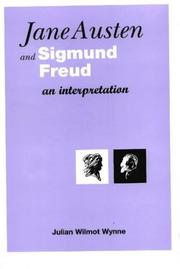 Cover of: Jane Austen and Sigmund Freud