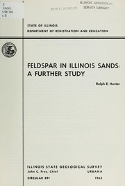 Cover of: Feldspar in Illinois sands: a further study