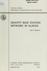 Cover of: Gravity base station network in Illinois