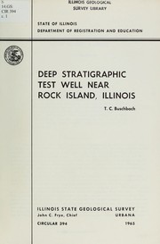 Cover of: Deep stratigraphic test well near Rock Island, Illinois