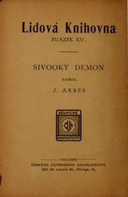 Cover of: Sivooký démon