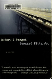 Cover of: Before I forget