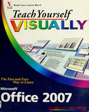 Cover of: Teach yourself visually Office 2007
