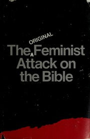 Cover of: The original feminist attack on the Bible | Elizabeth Cady Stanton