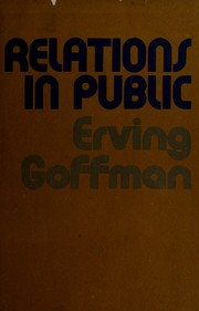Cover of: Relations in Public