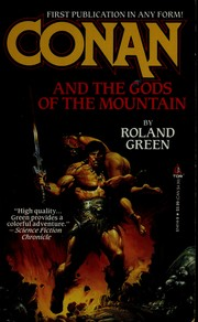 Cover of: Conan and the gods of the mountain