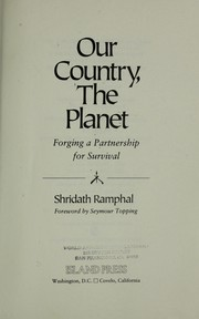 Cover of: Our country, the planet | S. S. Ramphal
