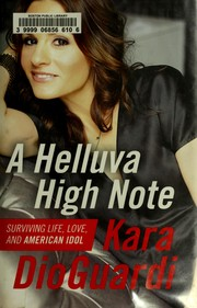 Cover of: A helluva high note