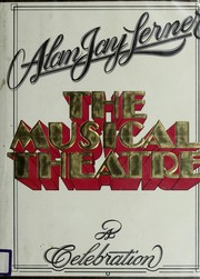 Cover of: The musical theatre