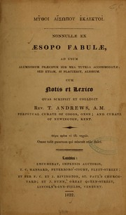 Cover of: Mythoi Aisōpou eklektoi