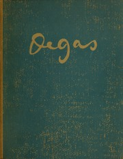 Cover of: Degas, 1834-1917