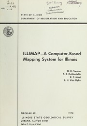 Cover of: ILLIMAR-a computer-based mapping system for Illinois