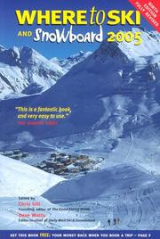 Cover of: Where to Ski and Snowboard