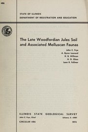 Cover of: The late Woodfordian Jules soil and associated Molluscan faunas