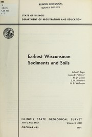 Cover of: Earliest Wisconsinan sediments and soils