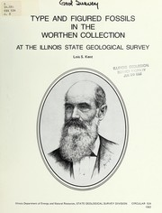 Cover of: Type and figured fossils in the Worthen collection at the Illinois State Geological Survey