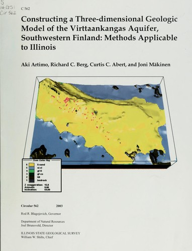 Constructing a three-dimensional geologic model of the Virttaankangas Aquifer, Southwestern Finland by Aki Artimo