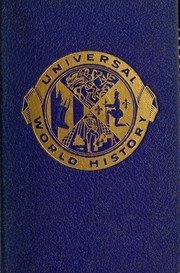 Cover of: Universal world history