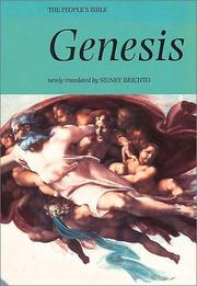 Cover of: Genesis (The People's Bible)