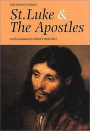 Cover of: The Gospel of St. Luke and the Acts of the Apostles (The People's Bible)