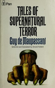 Cover of: Tales of supernatural terror