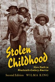 Cover of: Stolen childhood | Wilma King