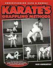 Cover of: Karate's Grappling Methods