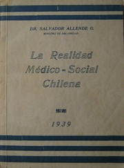 Cover of: La realidad médico-social chilena: síntesis